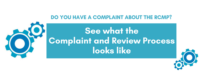 CRCC Complaint and Review Process